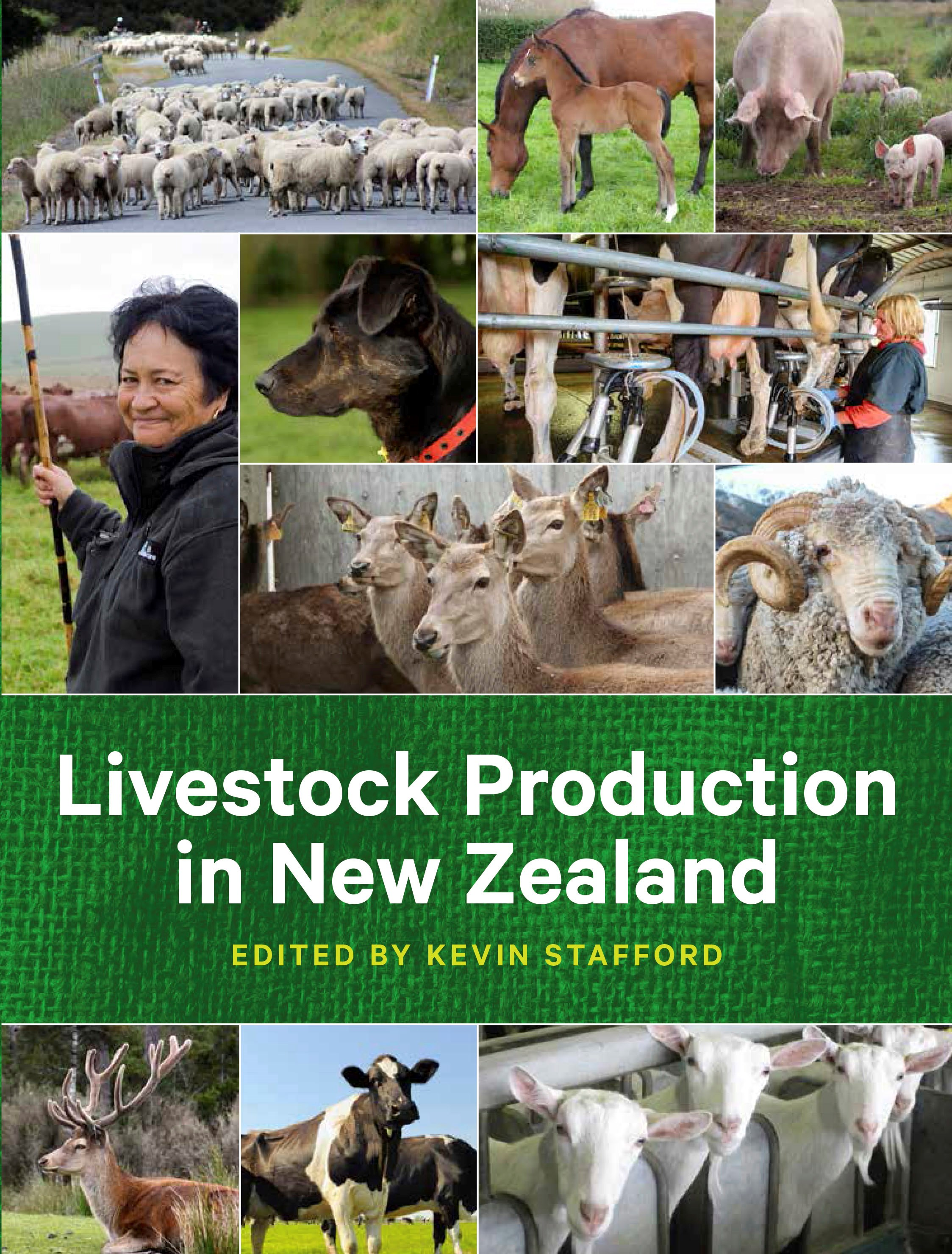 book cover for Livestock Production in New Zealand