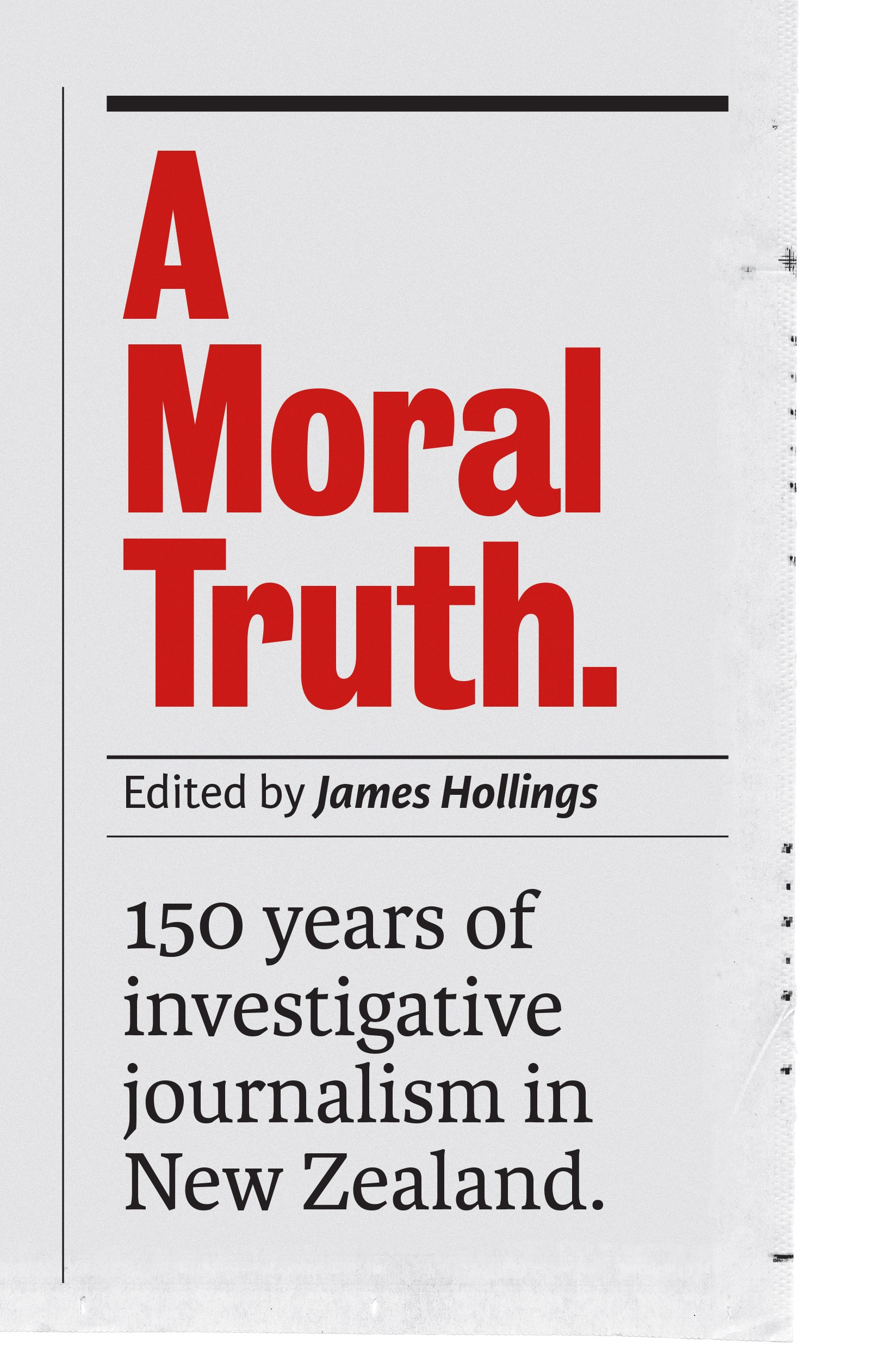 book cover for A Moral Truth