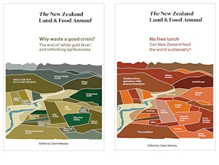 book cover for The New Zealand Land & Food Annual Bundle