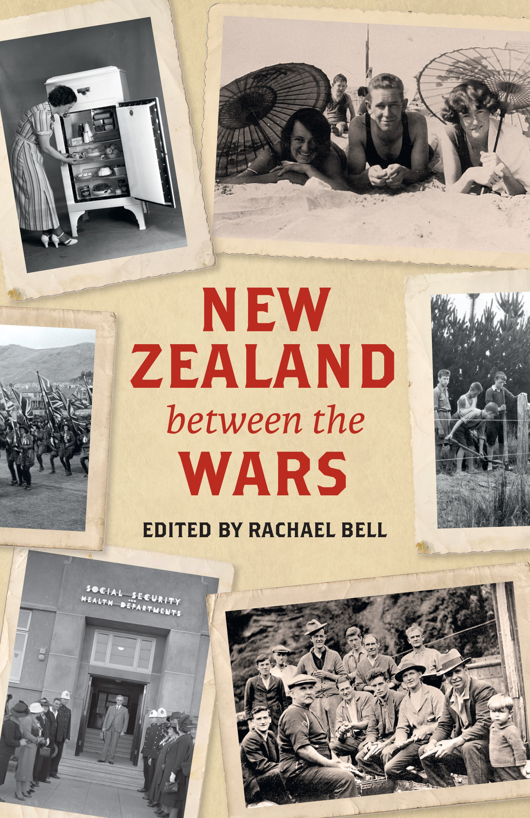 book cover for New Zealand Between the Wars