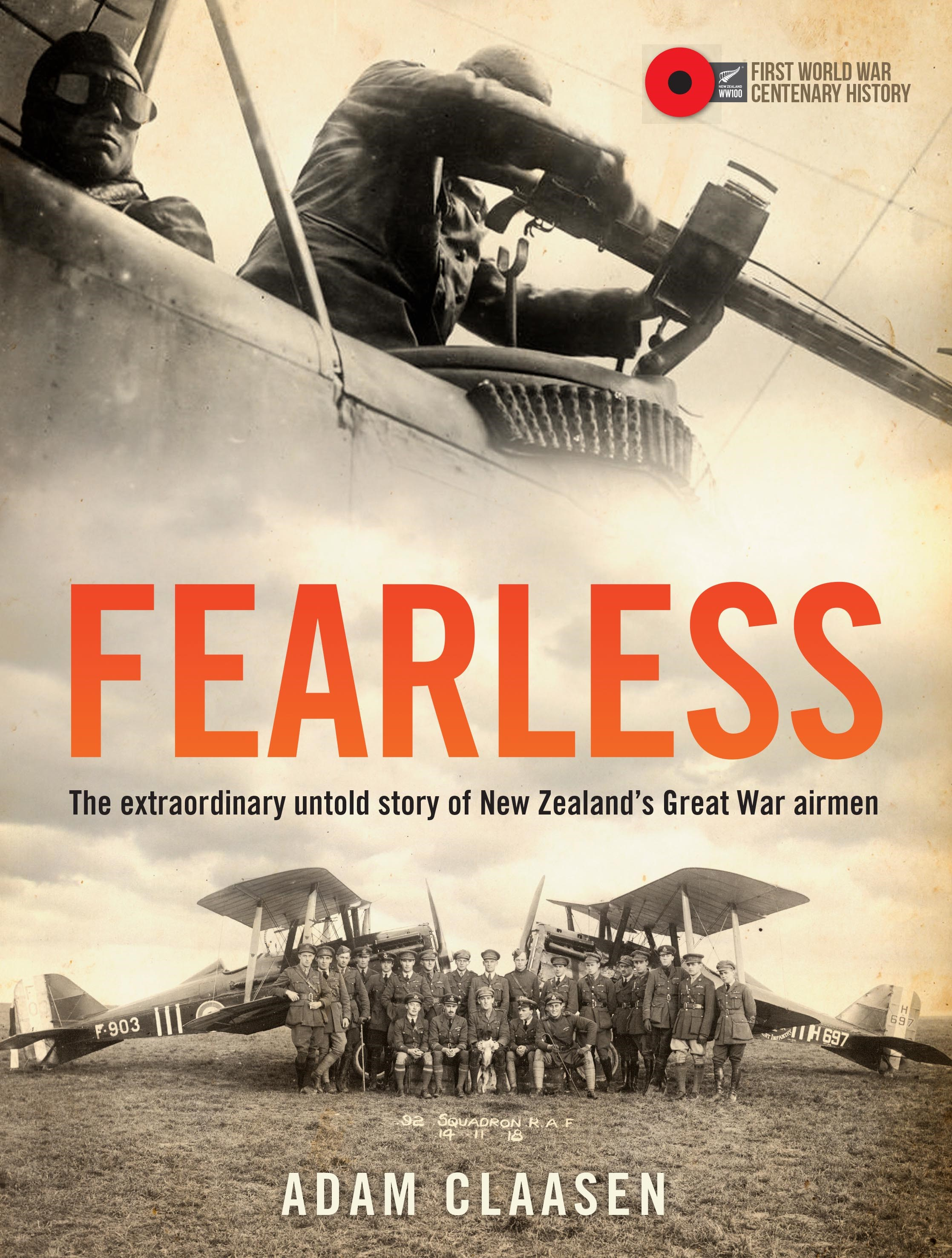 book cover for Fearless