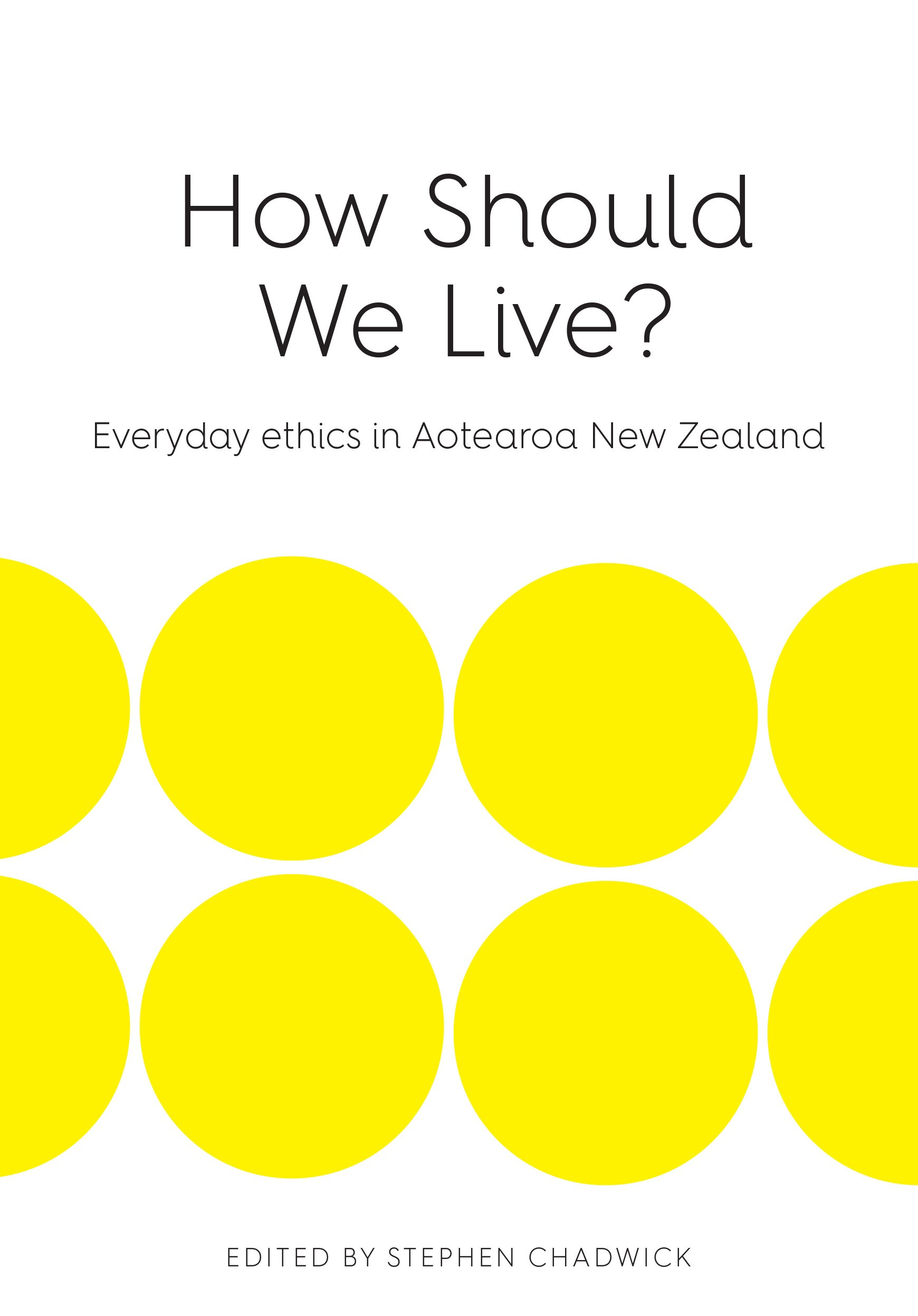 book cover for How Should We Live?