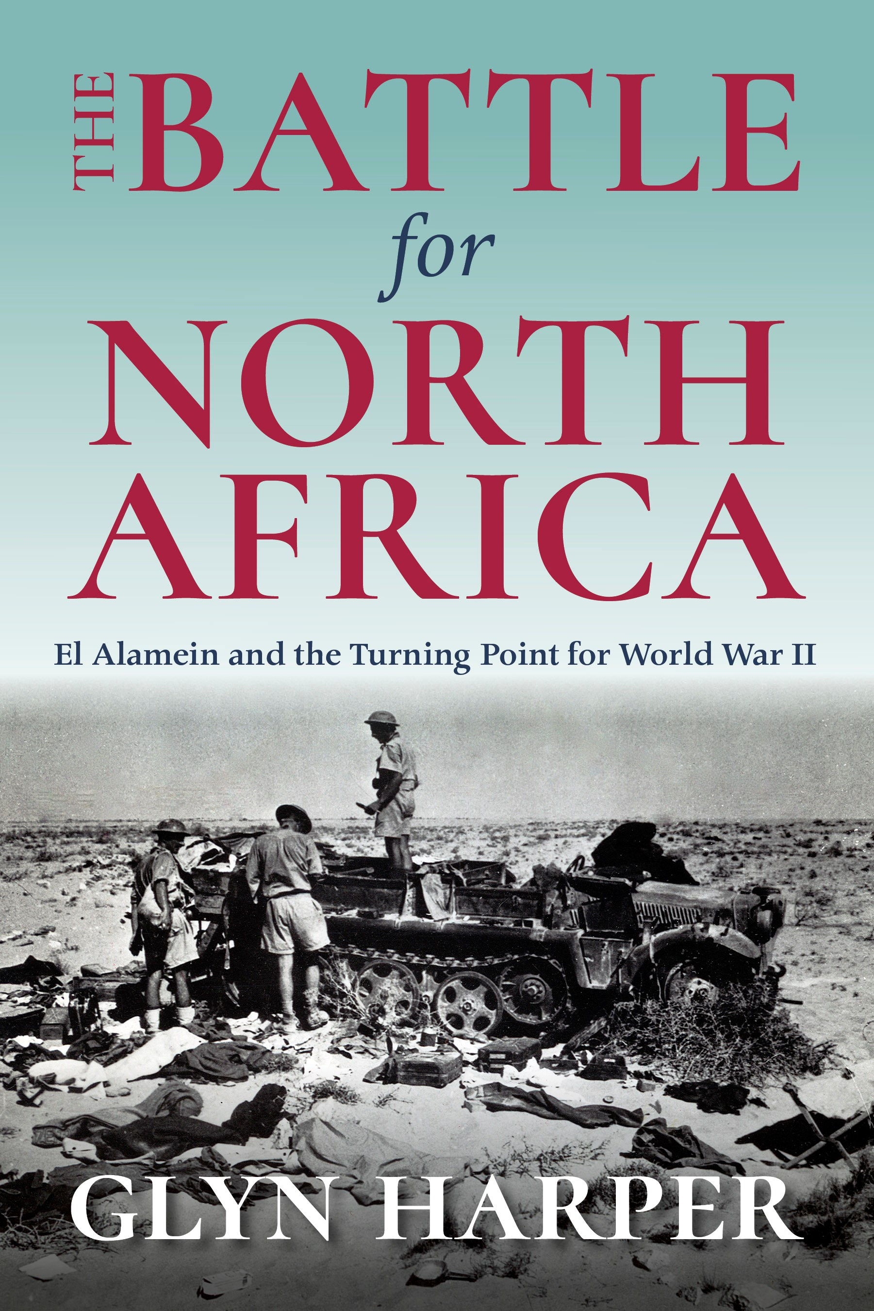 book cover for The Battle for North Africa