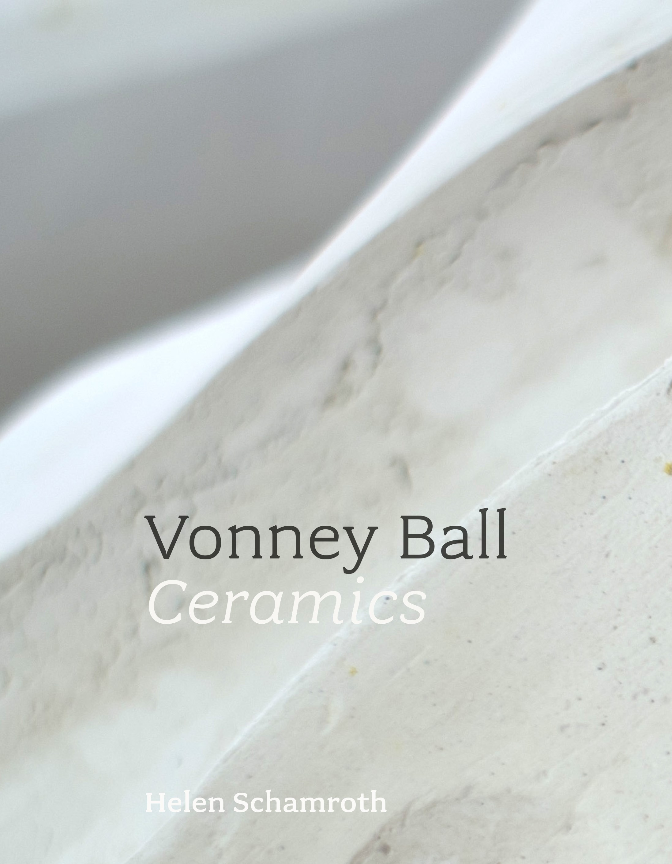book cover for Vonney Ball