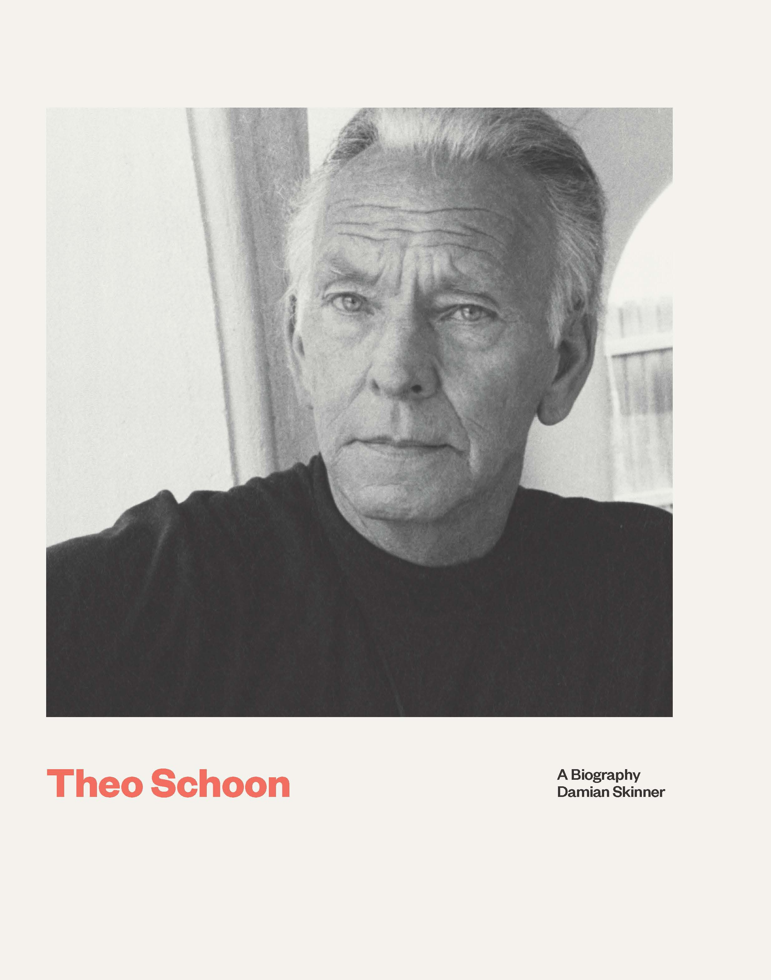 book cover for Theo Schoon