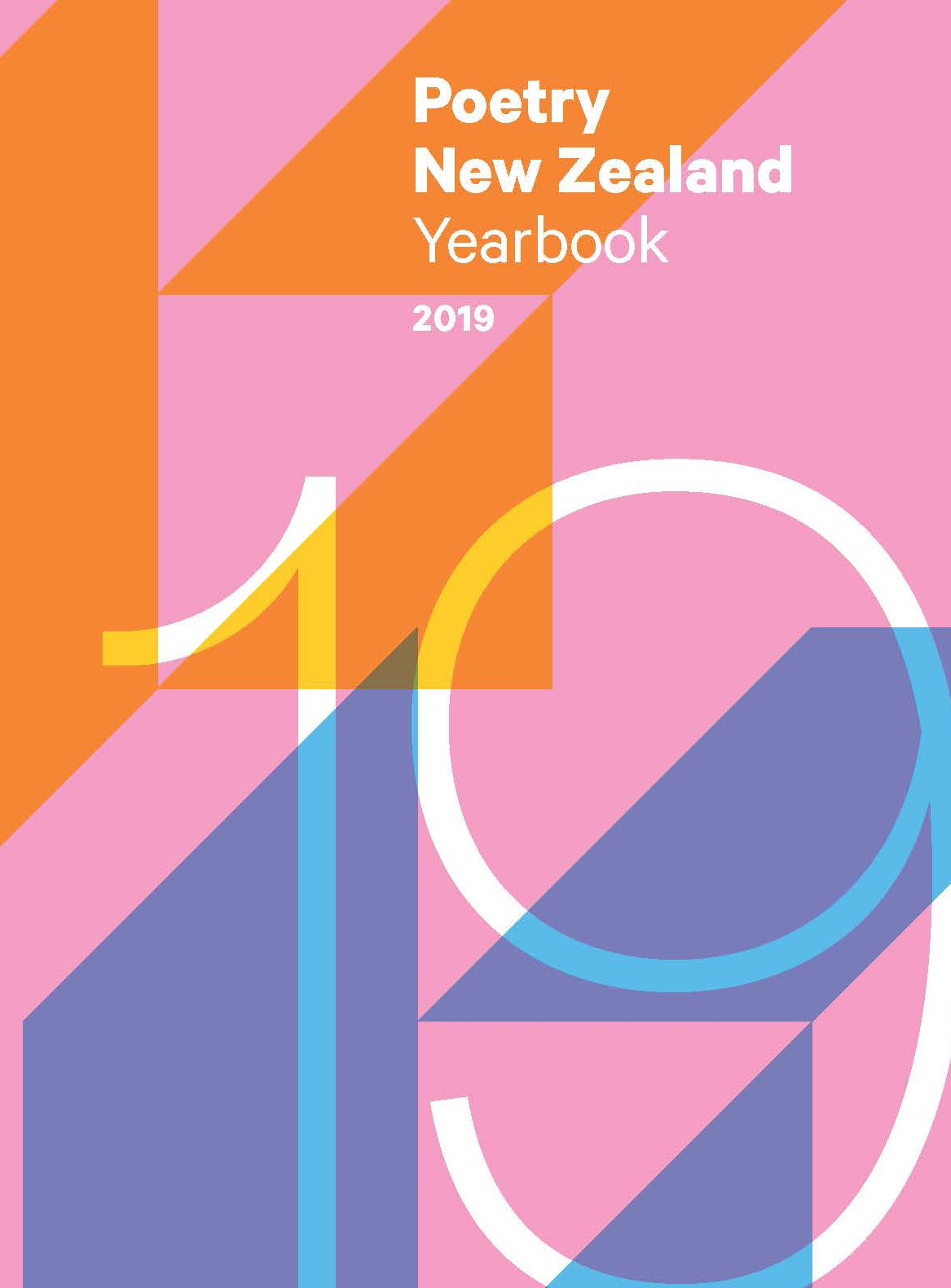 book cover for Poetry New Zealand Yearbook 2019
