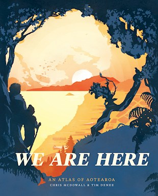 book cover for We Are Here