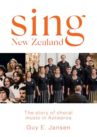 book cover for Sing New Zealand
