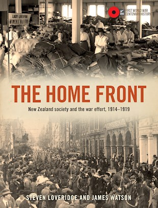 book cover for The Home Front