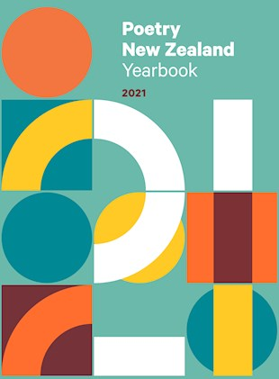 book cover for Poetry New Zealand Yearbook 2021